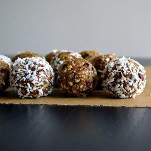 Buckwheat Chocolate Chip Cookie Dough Bites