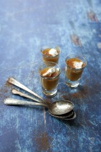 Butternut Squash Shooters with spoons