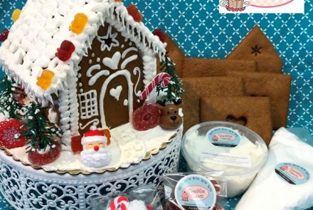 SPONSORED: Gluten-Free, Allergy-Friendly Gingerbread House