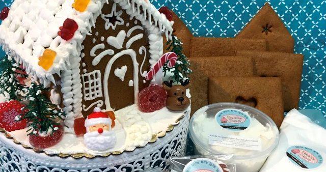 SPONSORED: Gluten-Free, Allergy-Friendly Gingerbread House