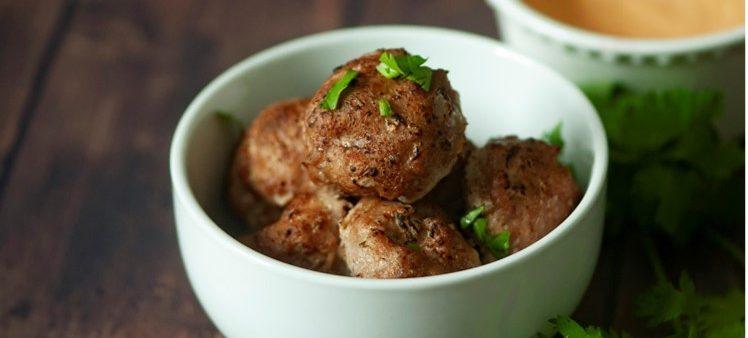 Simple Make-Ahead Meatballs