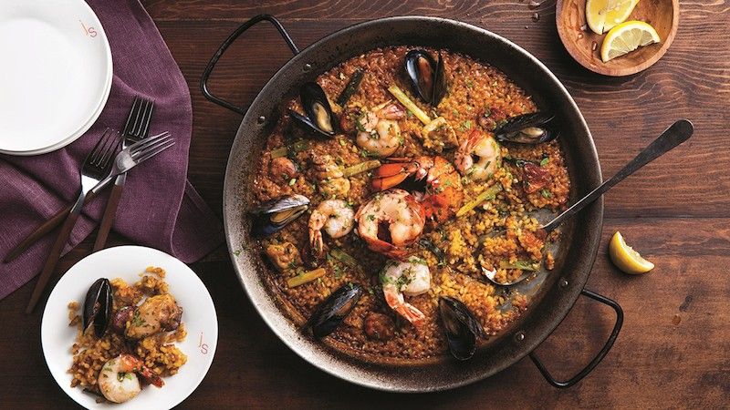 Paella Mixta, Julian Serrano at Aria