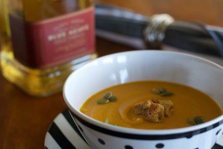 Blue Agave Roasted Yam Soup