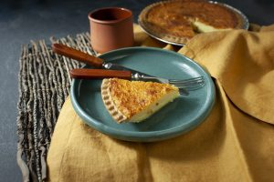 Southern Buttermilk Custard Pie