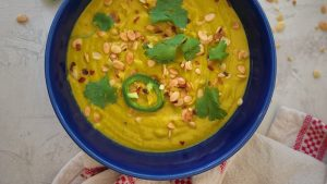 Coconut Curry Kabocha Squash Soup