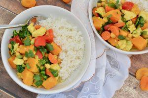 One Pot Butternut Squash Chicken Curry