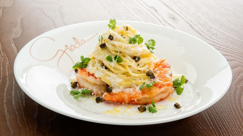 Lemon Spaghetti, Giada at The Cromwell