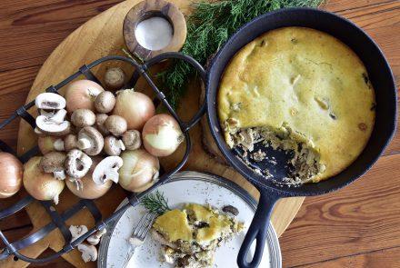Chicken and Portobello Mushroom Pot Pie