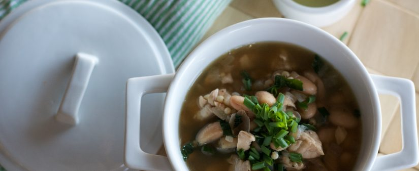 Tuscan Chicken Cannellini Kale Soup
