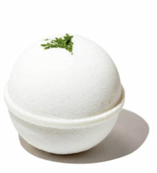 CBD and honey bath bomb for men