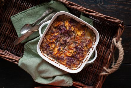 Scalloped Sweet Potato Bake