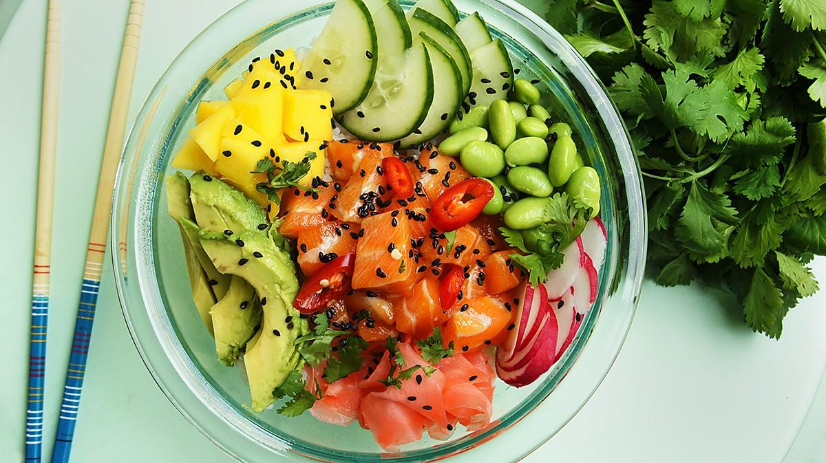Aloha Poke Bowl Gluten Free Living