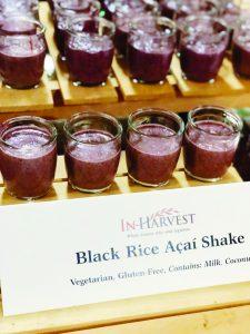 Black Rice Acai Shake