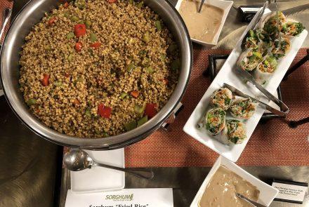 "Vegan Sorghum ""Fried Rice"""