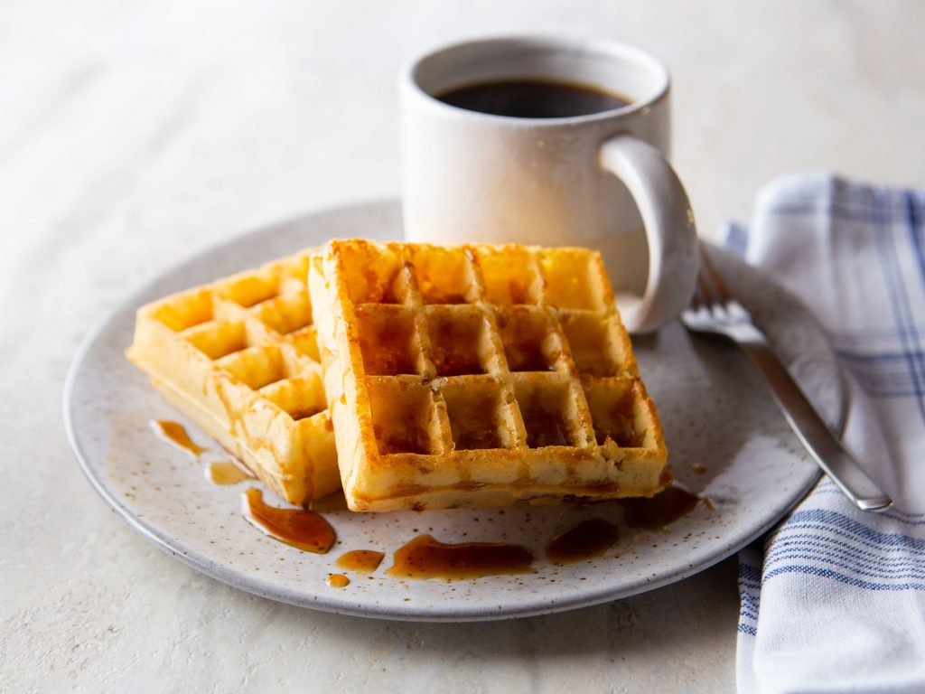 Gluten-Free Light and Crispy Buttermilk Waffles
