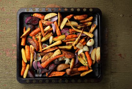 Roasted Spring Vegetable Medley with Parsley