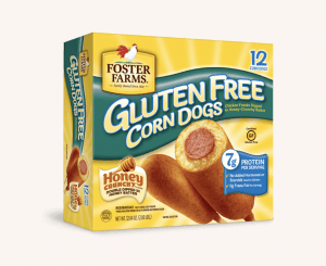 Foster Farms Gluten-Free Corndogs at Safeway