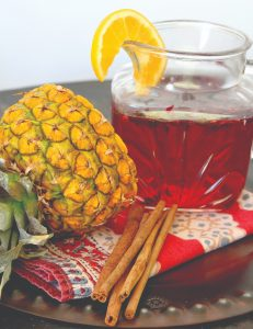 Hibiscus Cold Brew Infusion + Pineapple + Cranberry Juice