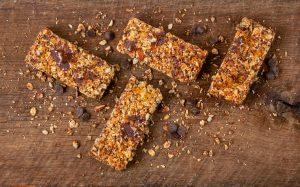 Peanut Butter-Chocolate Granola Bars