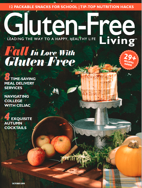 Gluten-Free Living Cover September October