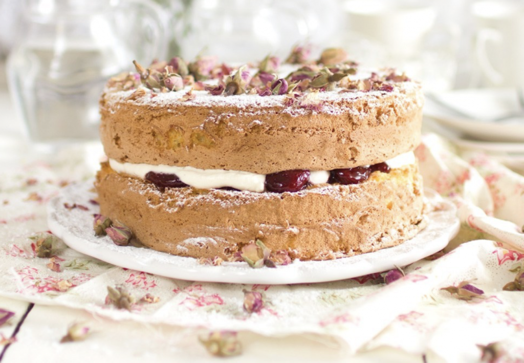 The Kiwi Cook's version of gluten-free sponge cake