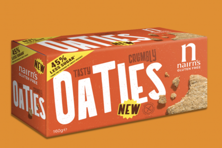 Nairn's Extends Range with Gluten-Free Oaties