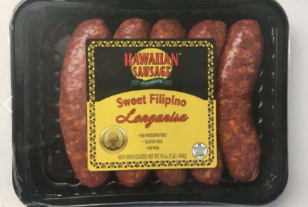 Pork Sausages Incorrectly Labeled Gluten-Free Recalled