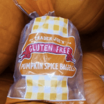 Trader Joe's Pumpkin Spice Bagels