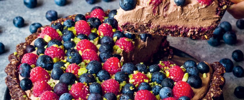 Berry Chocolate Mousse Tart