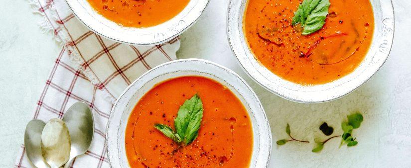 Gluten-Free Creamy Tomato Basil Soup