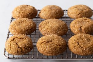 Soft Gluten-Free Gingerbread Cookies