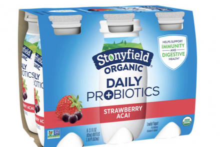 Stonyfield Organic Introduces New Probiotic, Gluten-Free Yogurt