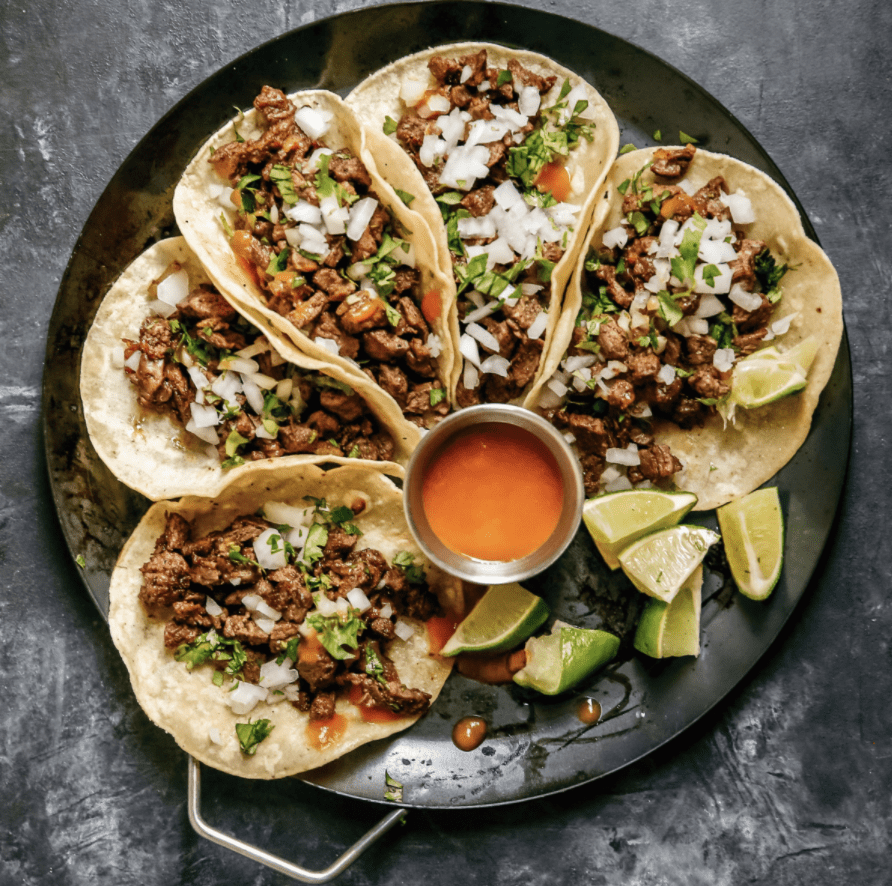 Gluten-Free Steak Street Tacos