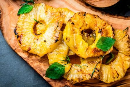 Grilled Pineapple From The Paleo Diabetes Diet Solution Cookbook